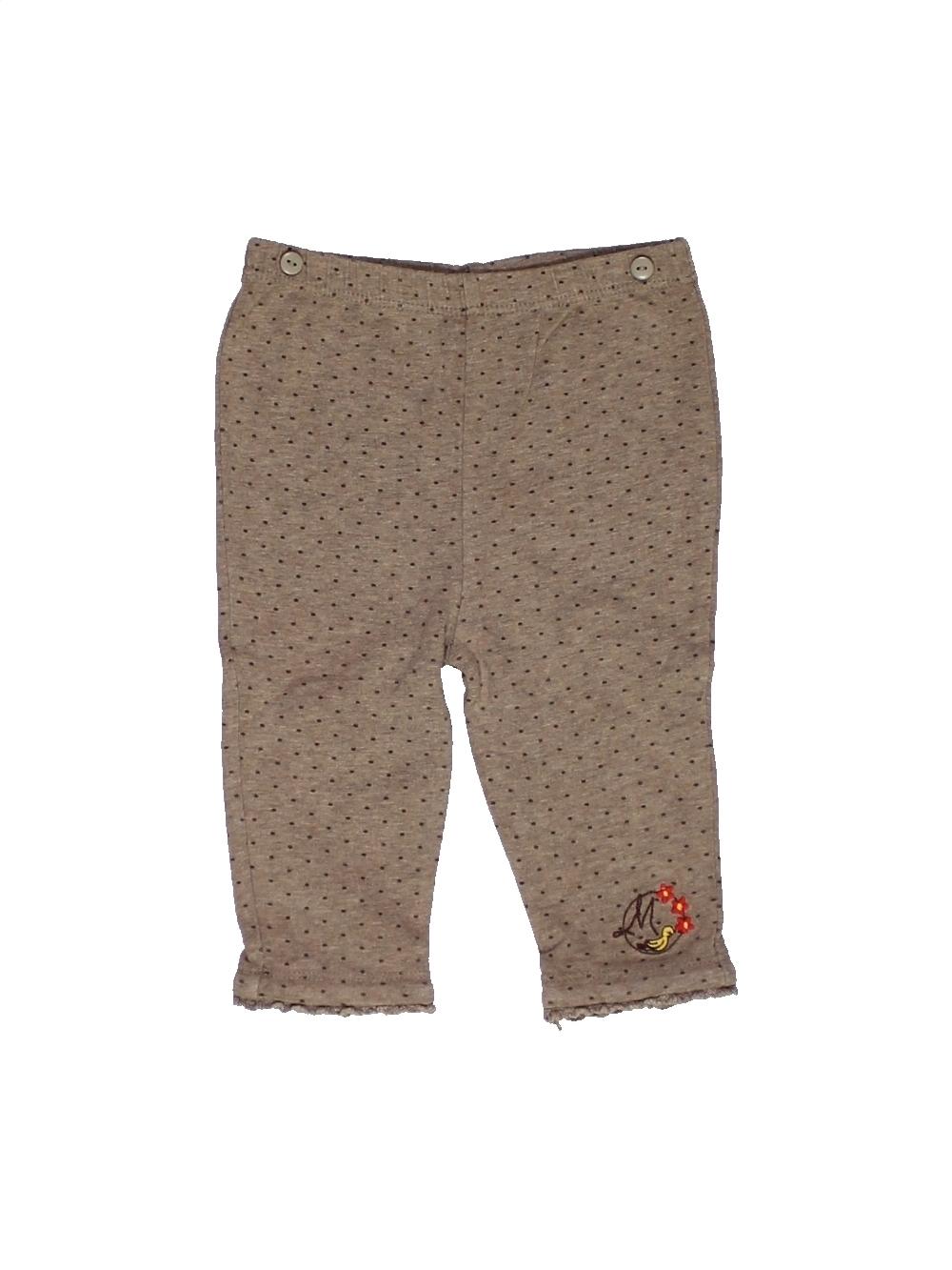 Legging-bebe-fille-SERGENT-MAJOR-6-mois-marron-ete-vetement-bebe-10801