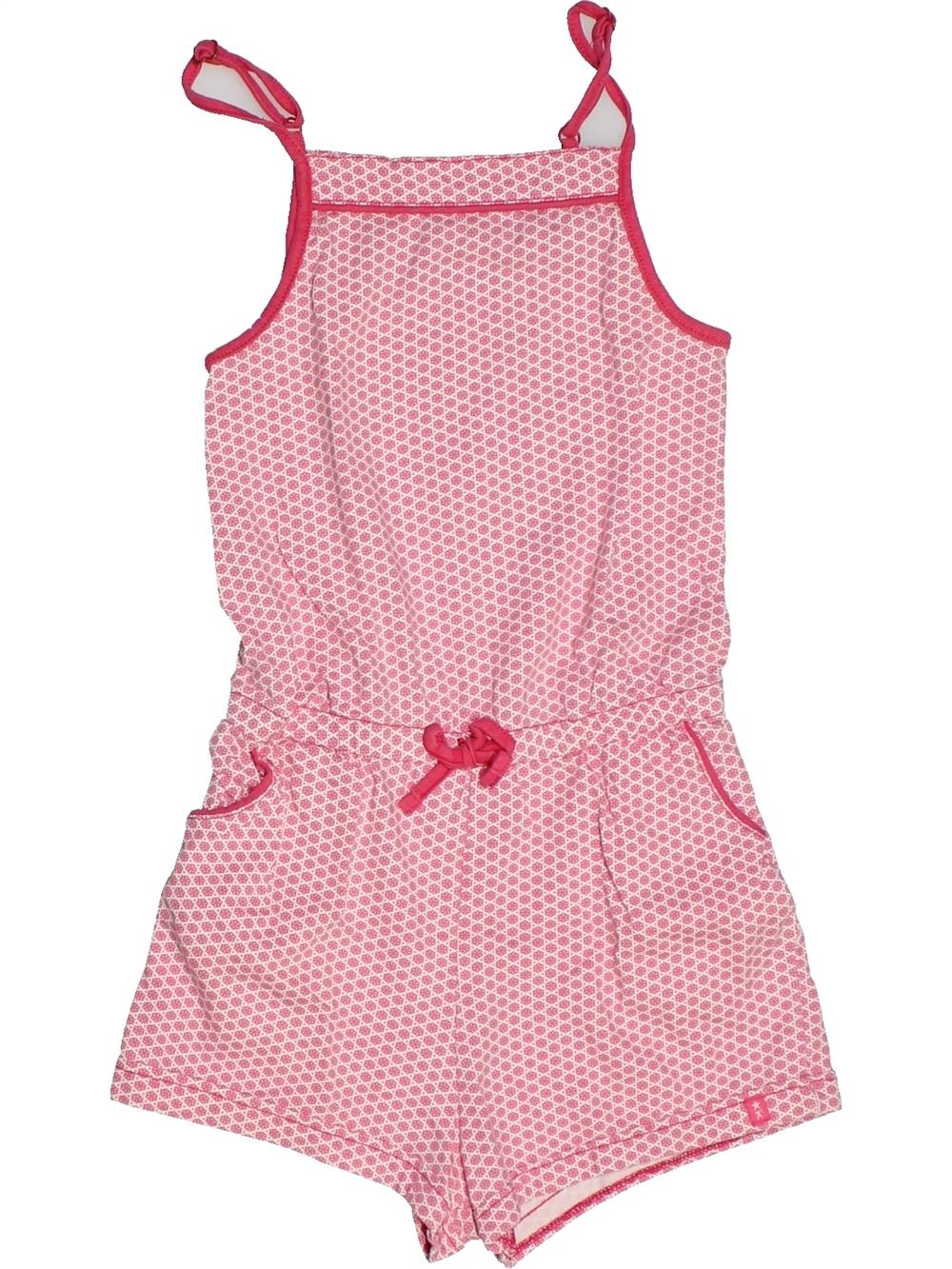 Combinaison-courte-enfant-fille-OKAIDI-8-ans-rose-ete-vetement-bebe-1093