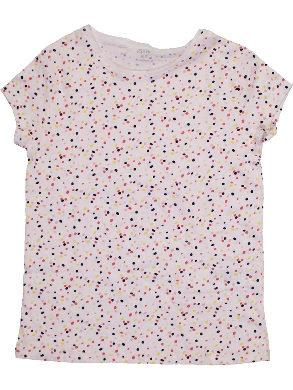T-shirt-manches-courtes-enfant-fille-KIABI-10-ans-violet-A-tA-vA-tement-bA-bA