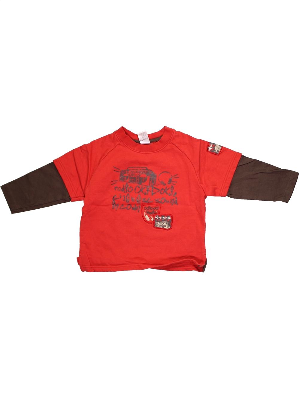 Sweat-enfant-garcon-C-amp-A-3-ans-rouge-hiver-vetement-bebe-1098705