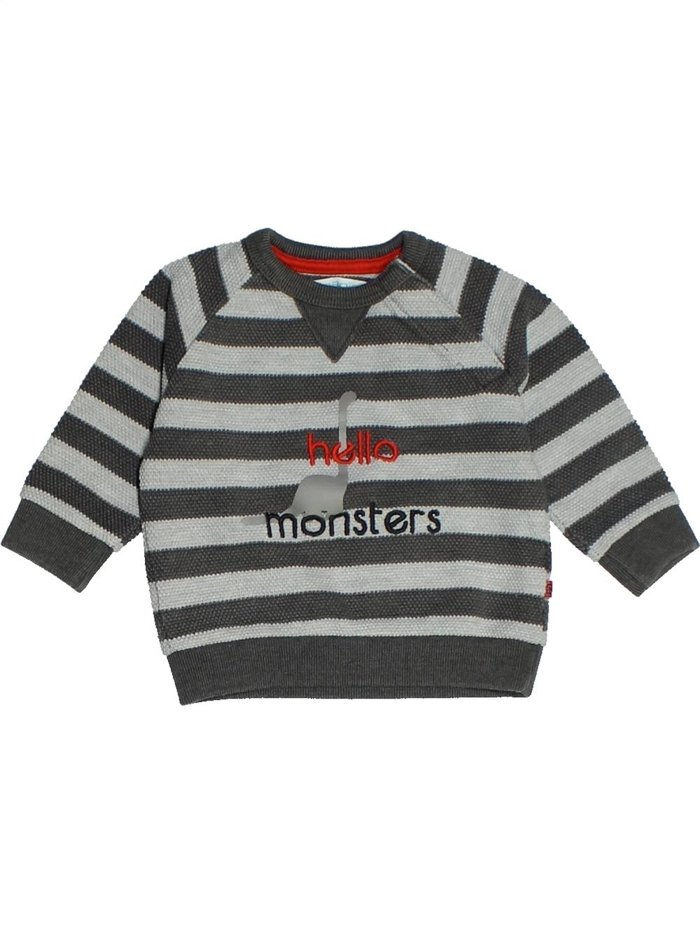 Sweat-bebe-garcon-OKAIDI-6-mois-gris-hiver-vetement-bebe-1098806