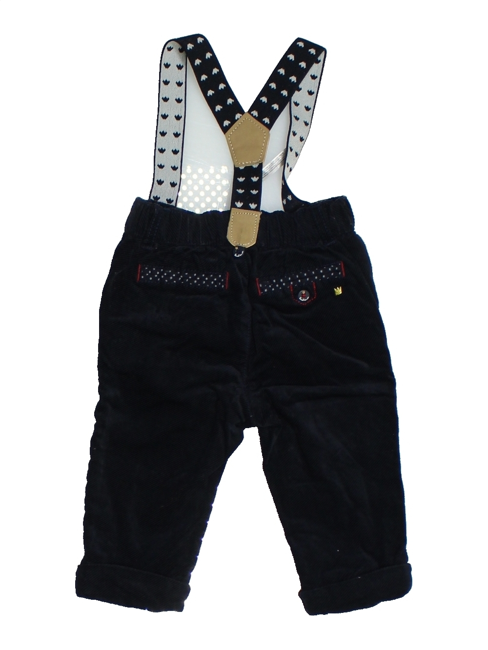 Pantalon-bebe-garcon-SERGENT-MAJOR-6-mois-noir-hiver-vetement-bebe-1099