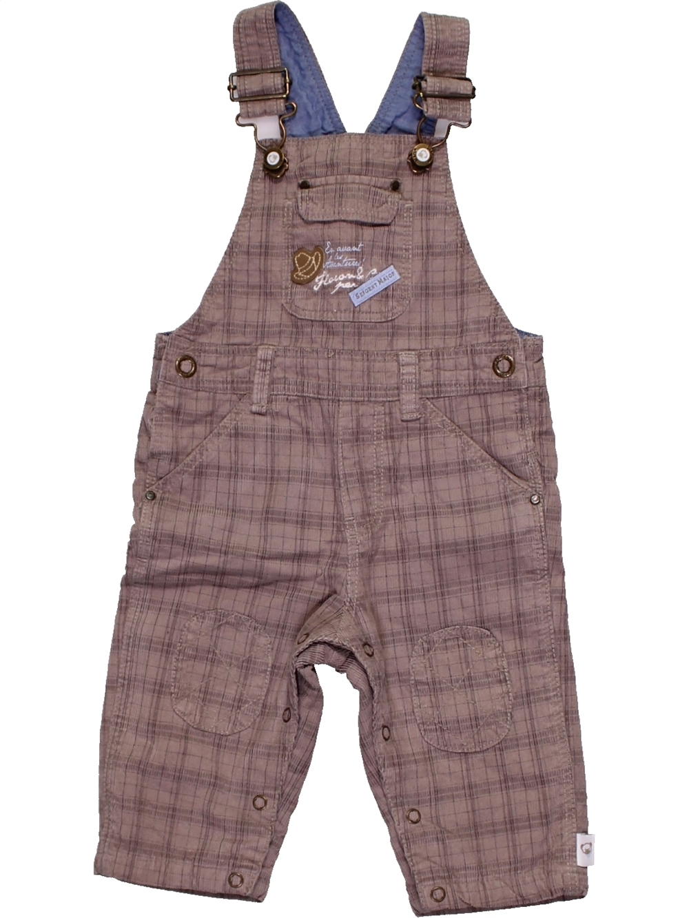 Salopette-bebe-garcon-SERGENT-MAJOR-6-mois-violet-hiver-vetement-bebe-1