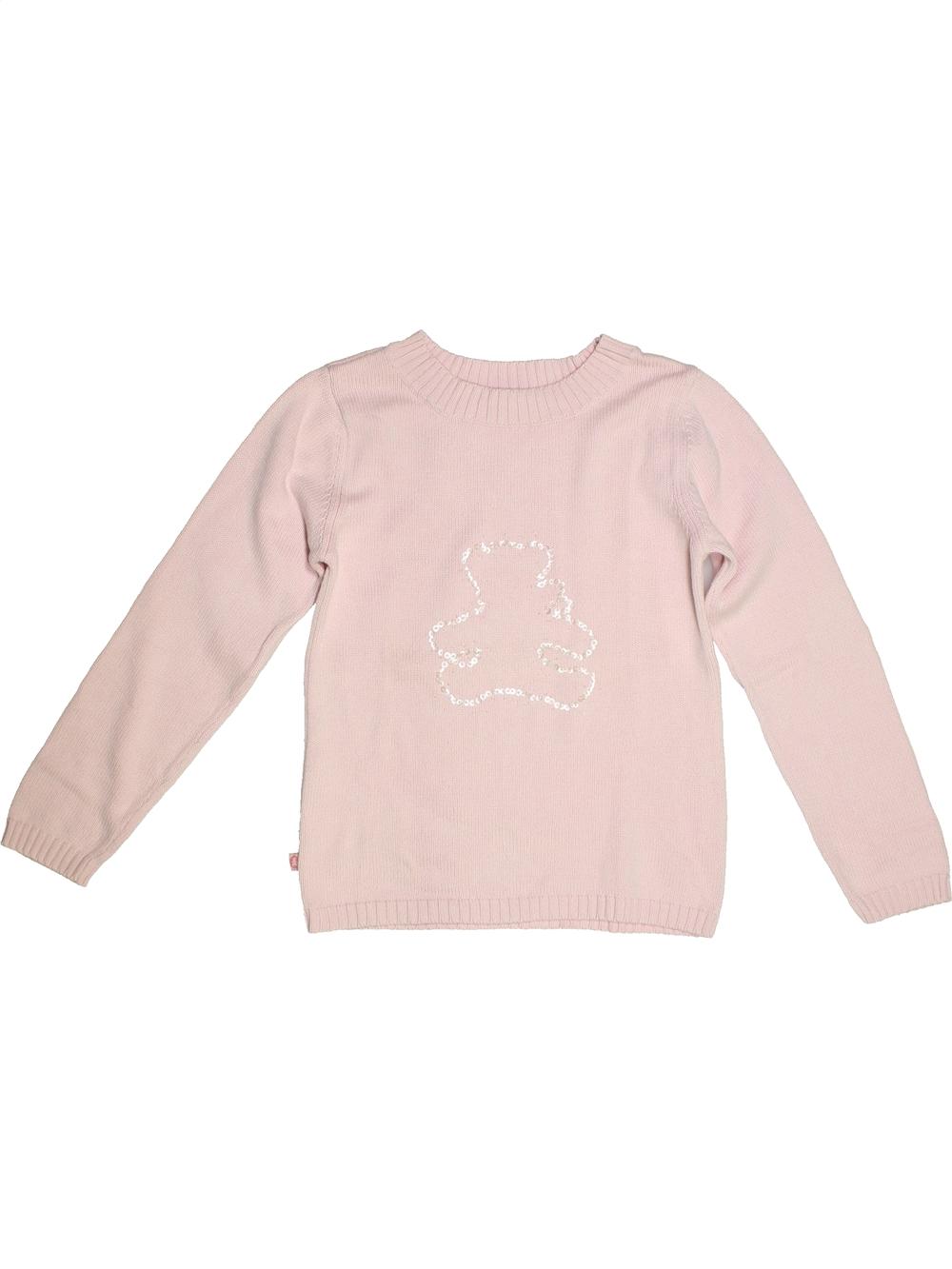 Pull-enfant-fille-LULU-CASTAGNETTE-12-ans-blanc-hiver-vetement-bebe-112654