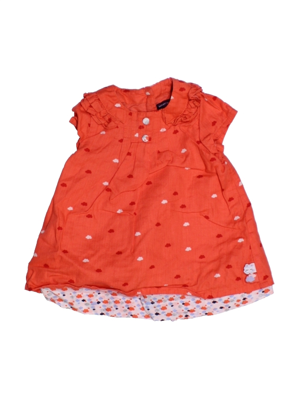 36c35bf877000 Robe rouge SERGENT MAJOR du 3 mois pour Fille - 1166679