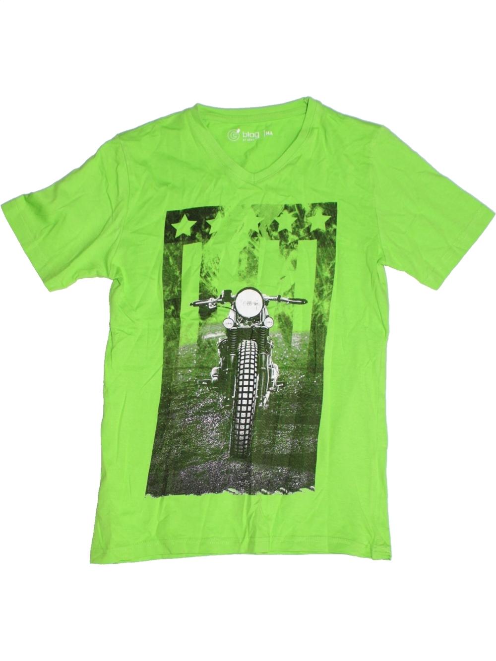 4de7dad7272ad T-shirt manches courtes Garçon GEMO 14 ans pas cher, 2.99 € - #1188843
