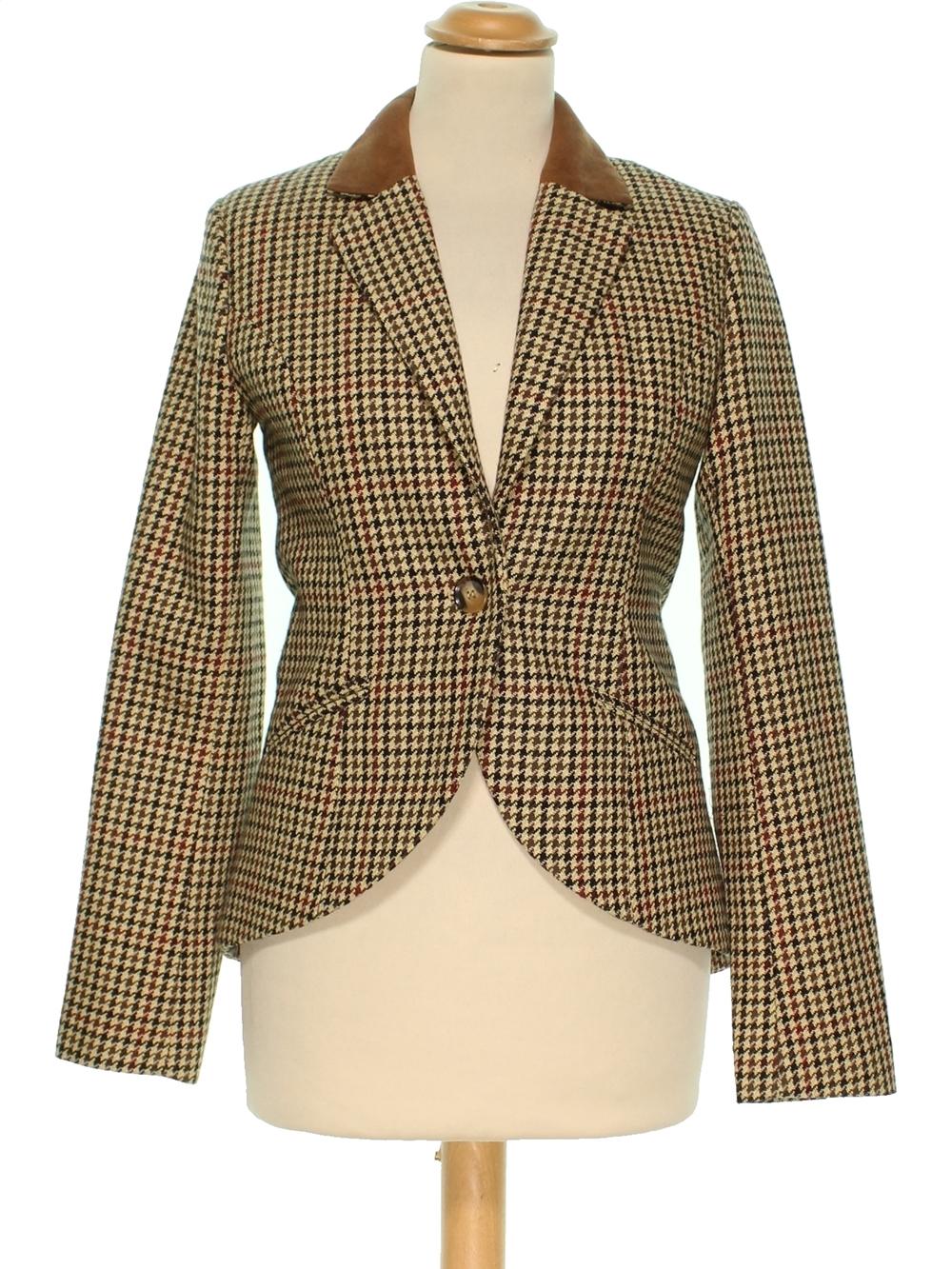 meilleur service 35a1b 11d8d Veste de tailleur, Blazer Femme H&M 34 (S - T1) pas cher ...
