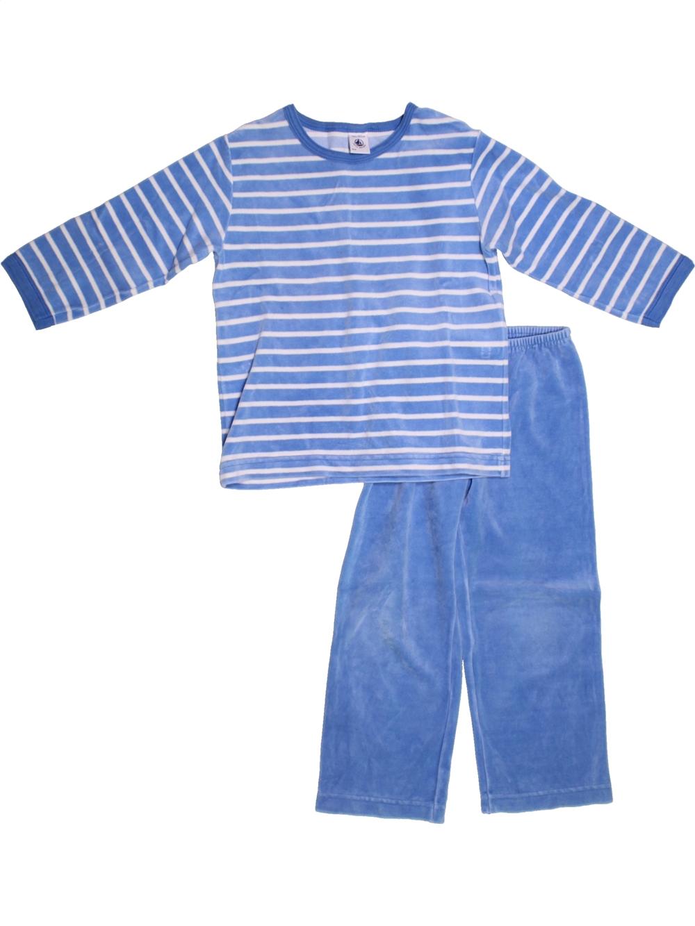 ce286f10ddeac Pyjama 2 pieces bleu PETIT BATEAU du 4 ans pour Garcon - 1224848