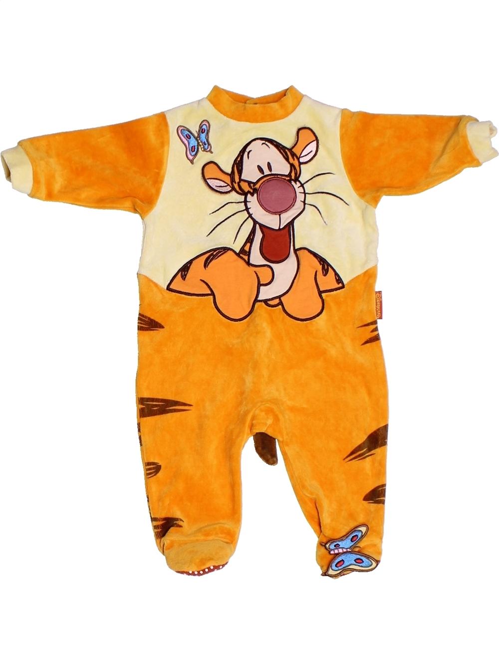 ca1c2299c4fc4 Pyjama 1 piece orange DISNEY du 3 mois pour Garcon - 1249386
