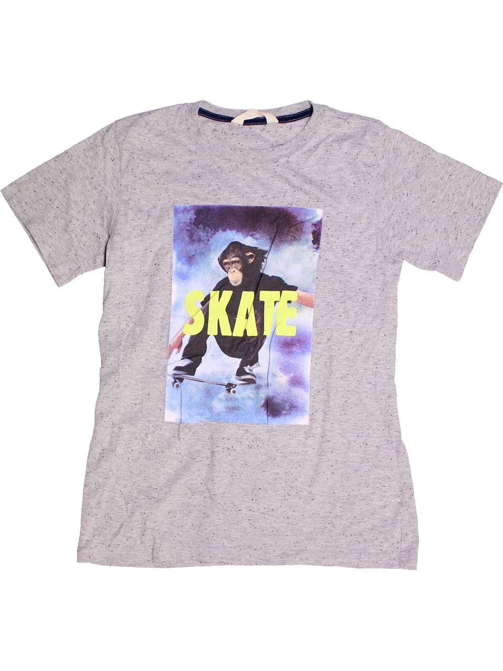 6ab4b5a8896de T-shirt manches courtes blanc H M du 14 ans pour Garcon - 1263212