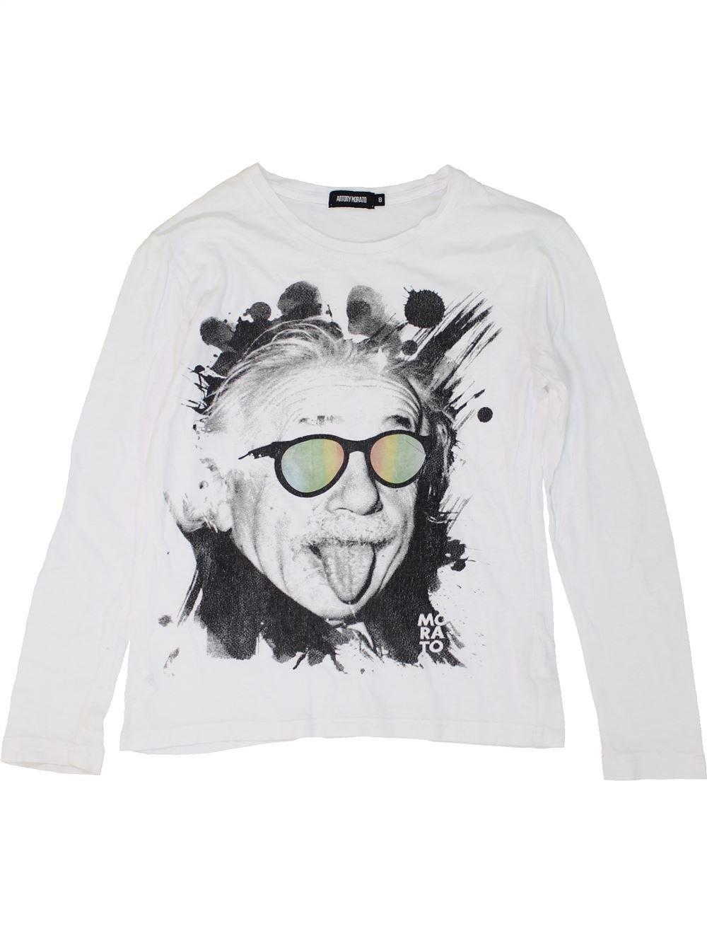 7059278a67f7b T-shirt manches longues blanc ANTONY MORATO du 8 ans pour Fille - 1273992