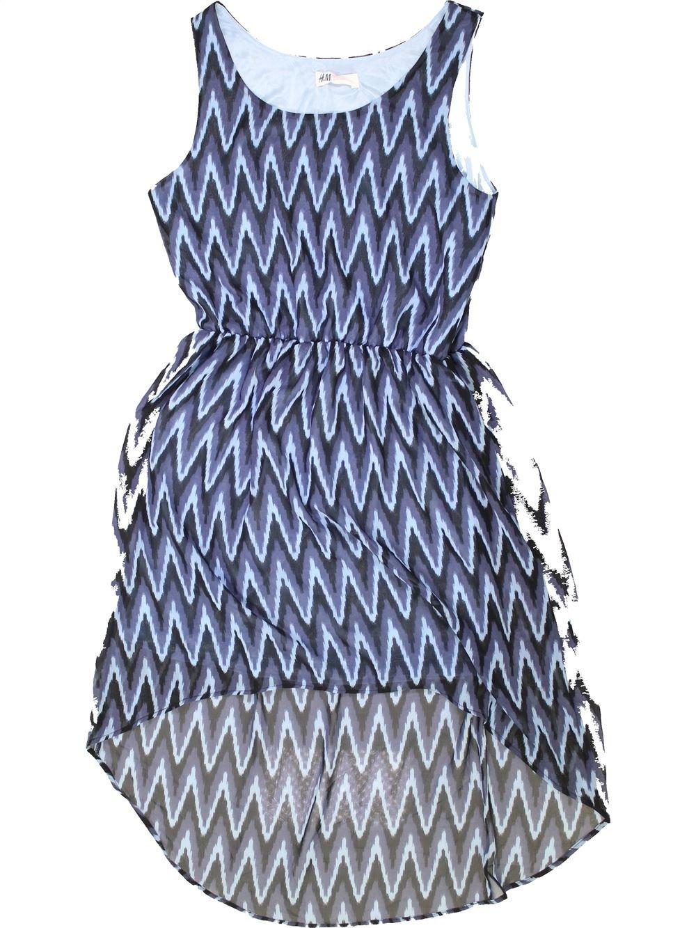 8ffd250cf37d6 Robe bleu H M du 14 ans pour Fille - 1275359