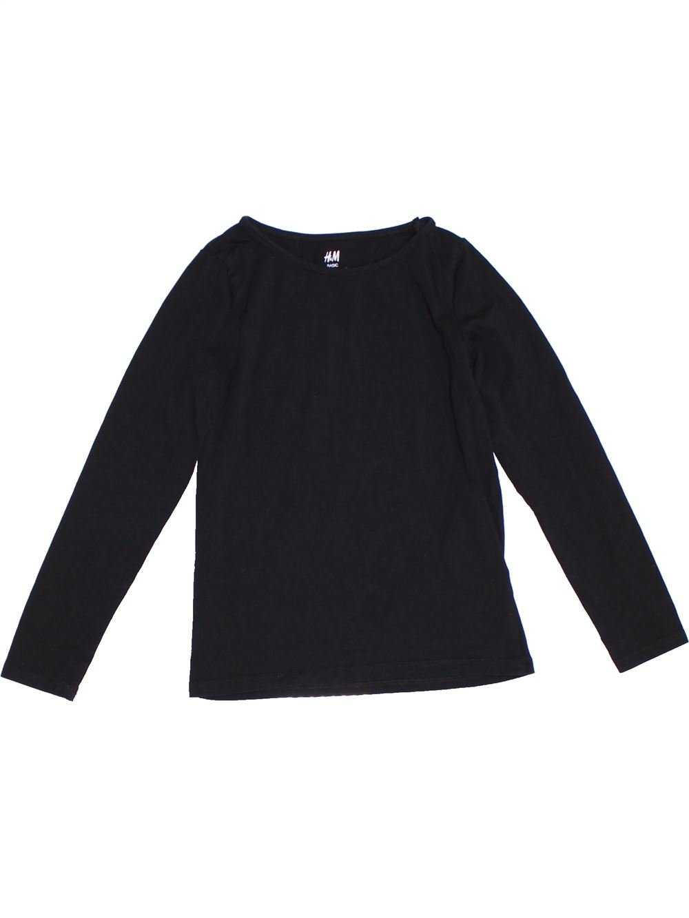 ef2059f80350d T-shirt manches longues noir H M du 8 ans pour Fille - 1280489