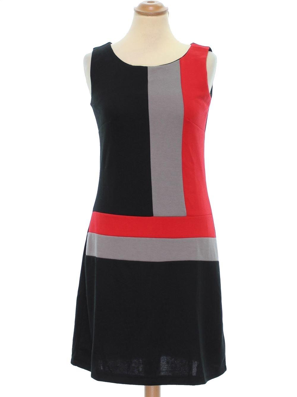 bas prix b6424 3aefd Robe Femme BLANCHE PORTE 36 (S - T1) pas cher, 6.99 € - #1287815