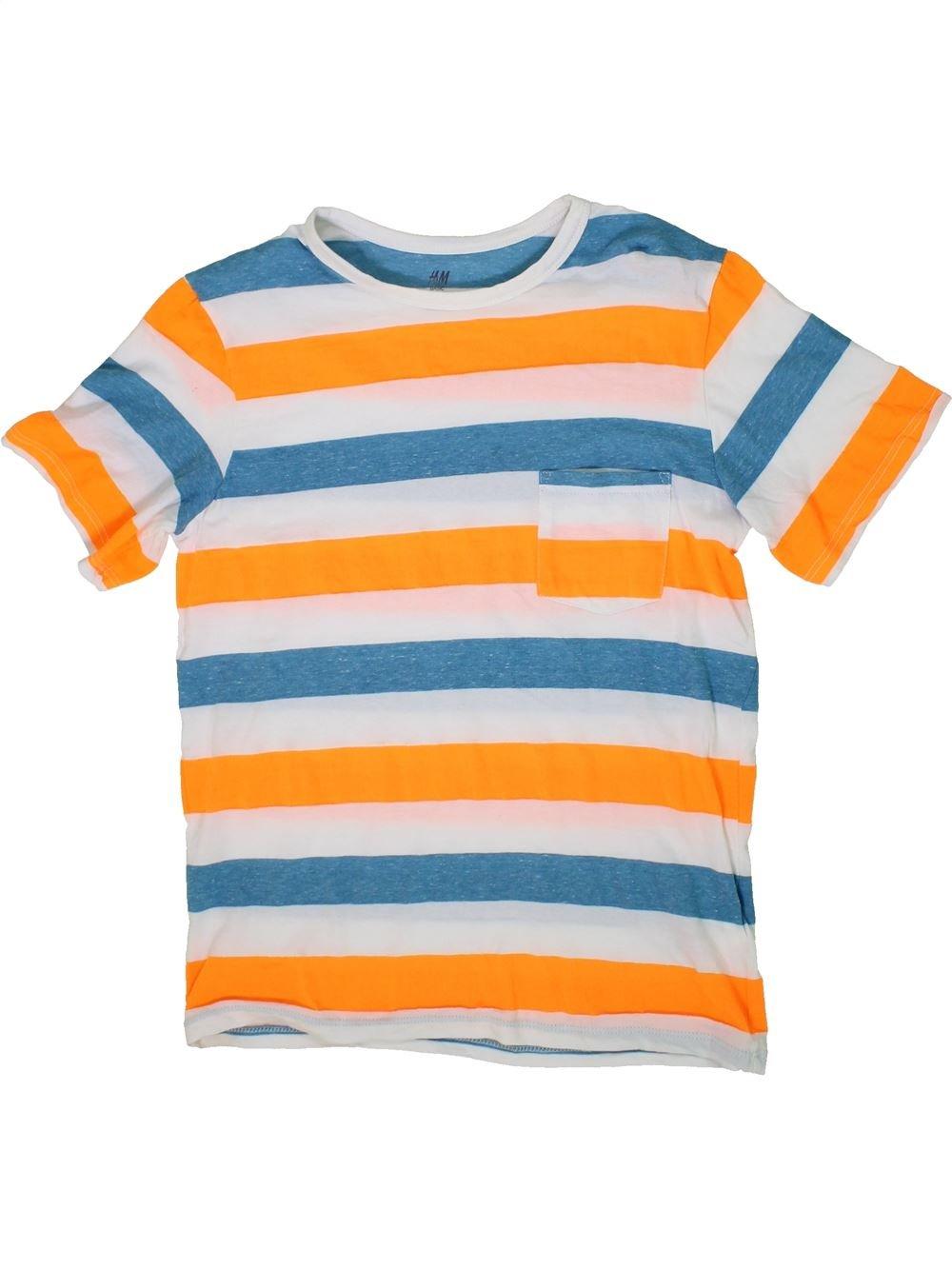 80aca203a6036 T-shirt manches courtes orange H M du 14 ans pour Garcon - 1294927