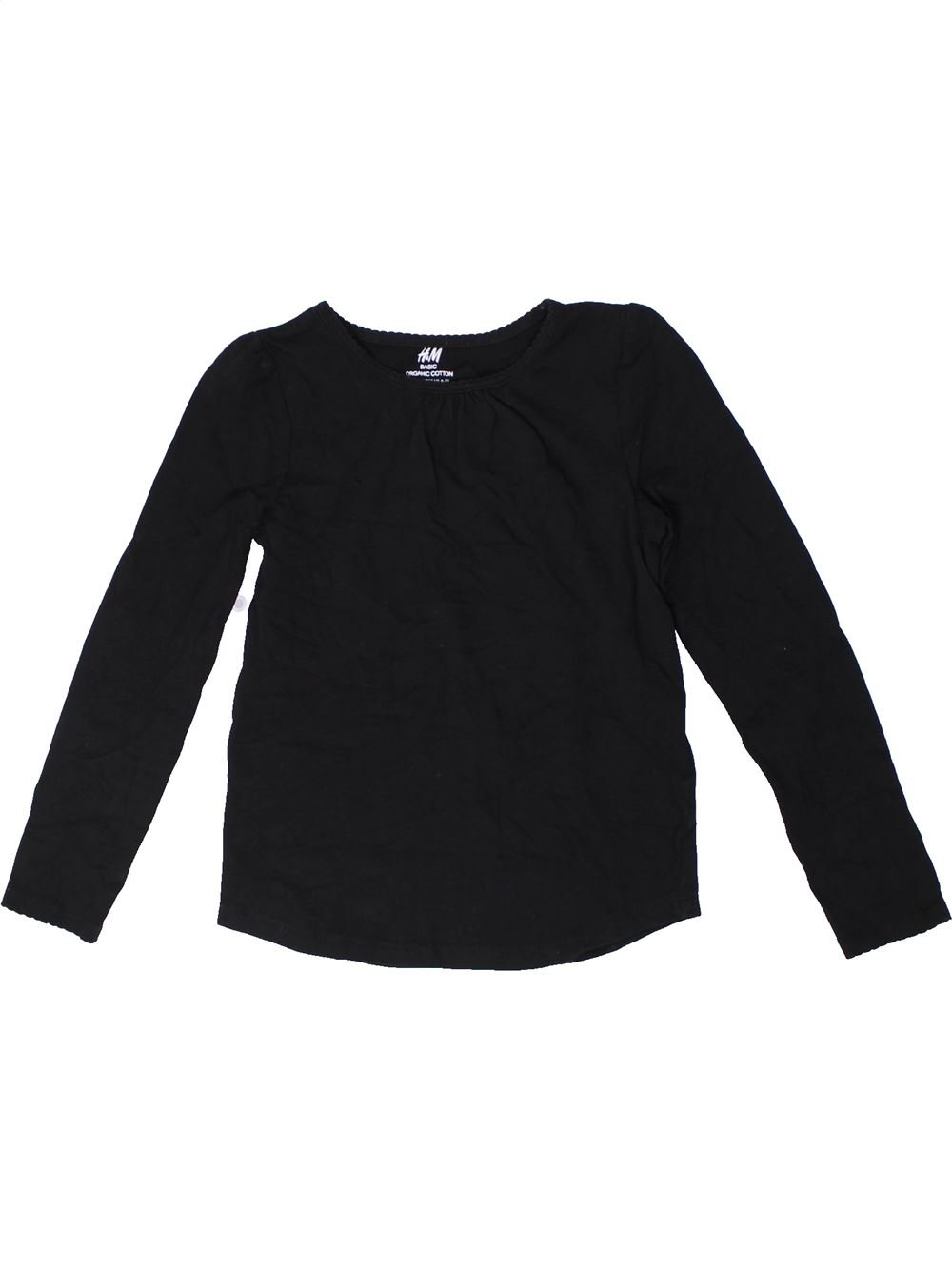 1cd80bf41ddcc T-shirt manches longues noir H M du 8 ans pour Fille - 1299912