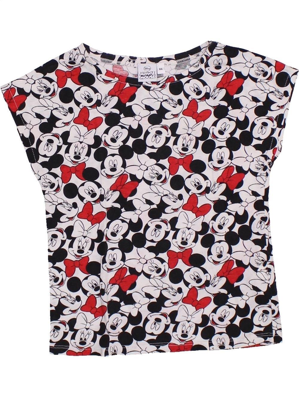 4c83bb2ab72c7 T-shirt manches courtes noir DISNEY du 8 ans pour Fille - 1326181
