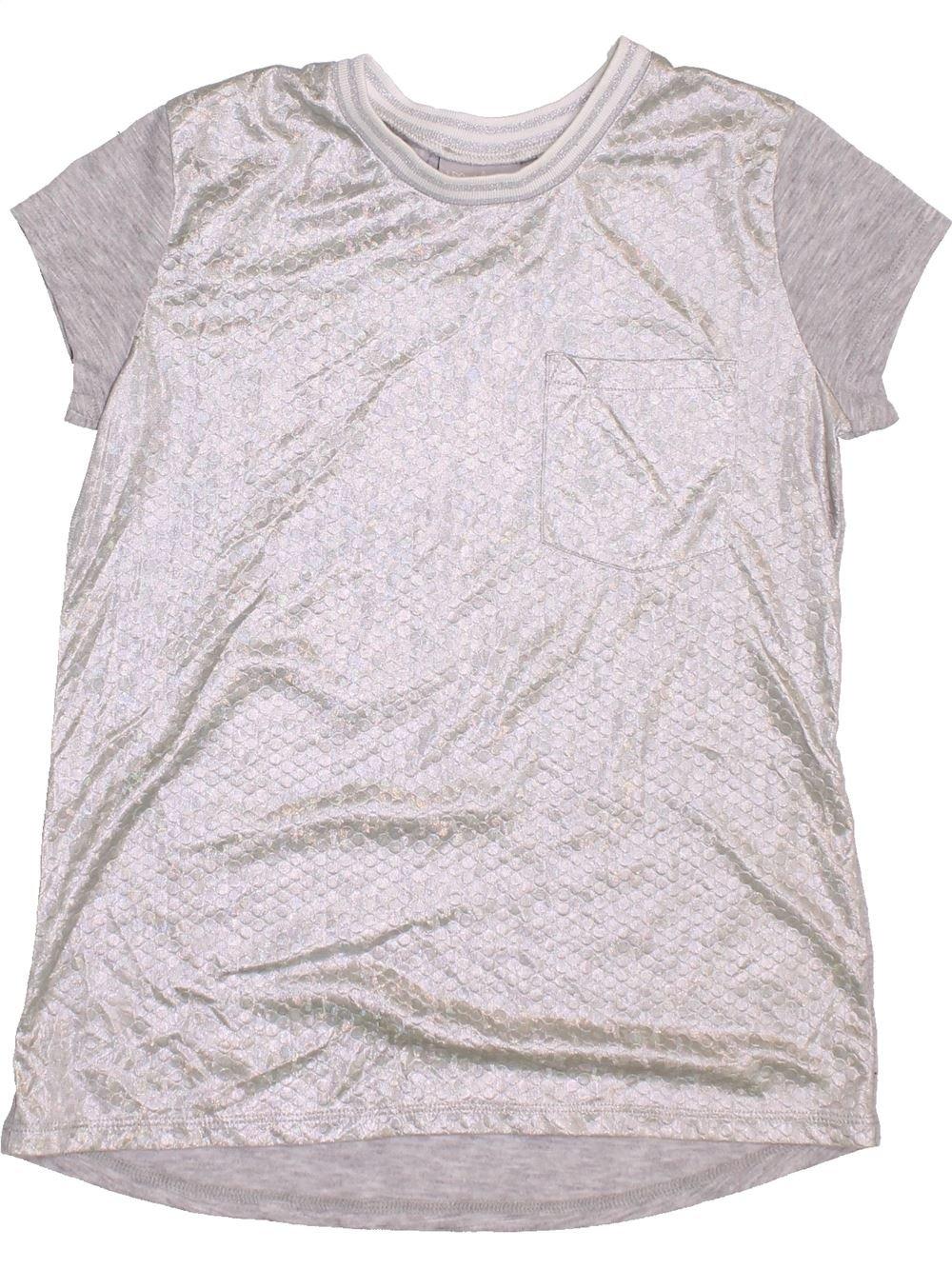 8a985d24eb935 T-shirt manches courtes blanc MATALAN du 10 ans pour Fille - 1364905