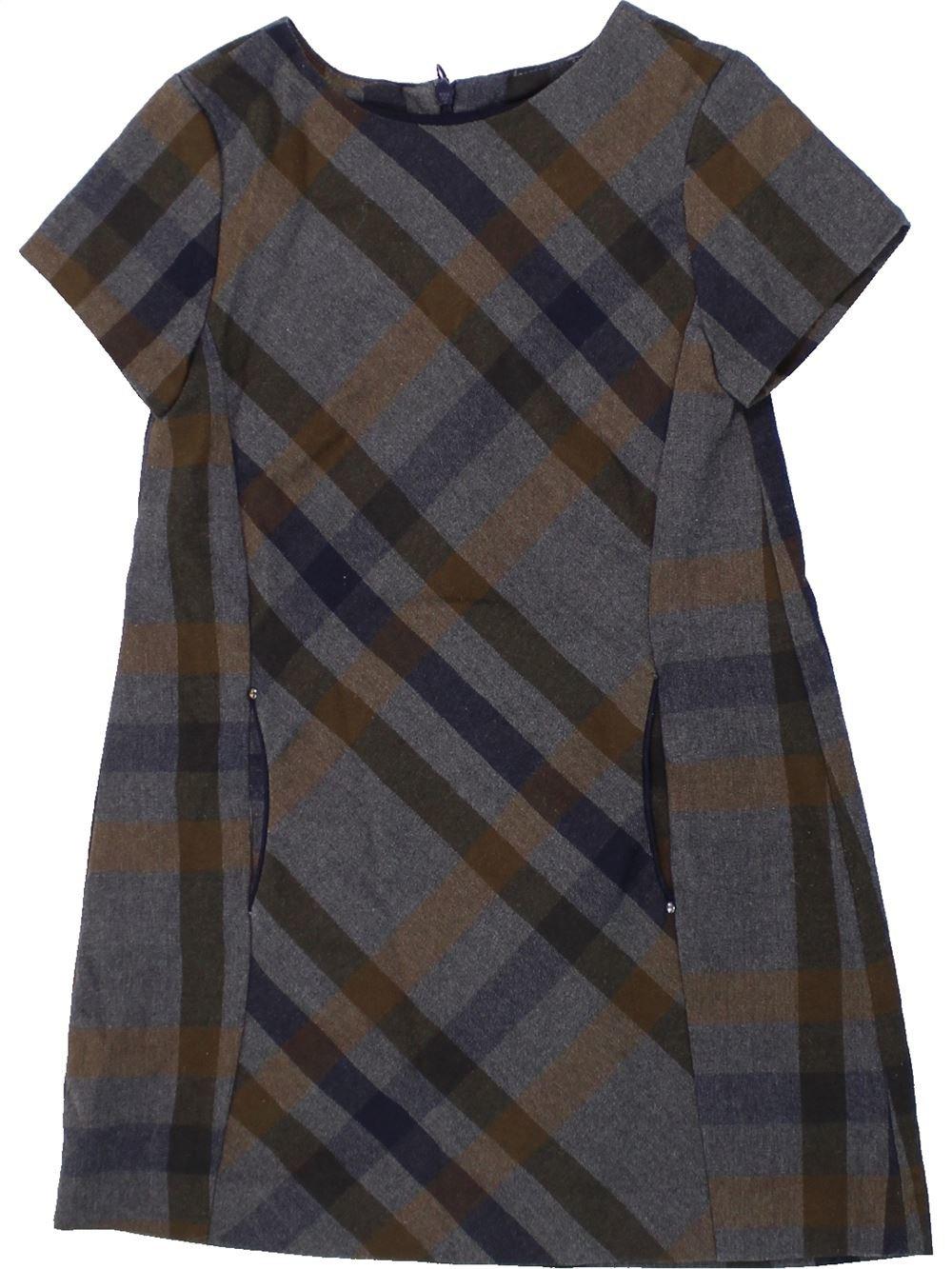 0cf9d8dae90d7 Robe gris ZARA du 6 ans pour Fille - 1418616