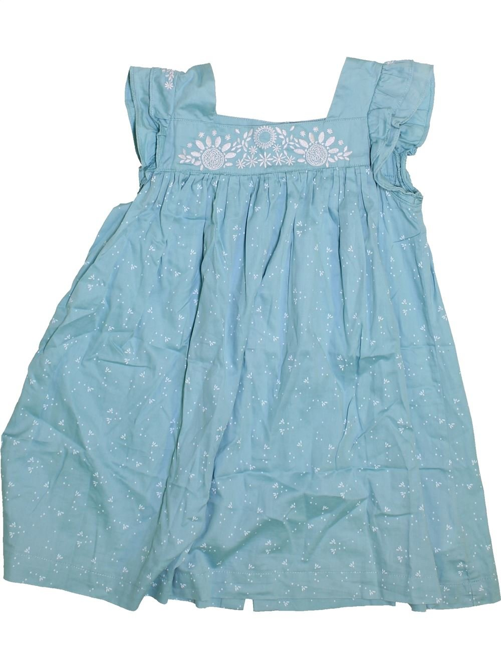 b6a63e7e28884 Robe bleu VERTBAUDET du 10 ans pour Fille - 1446491