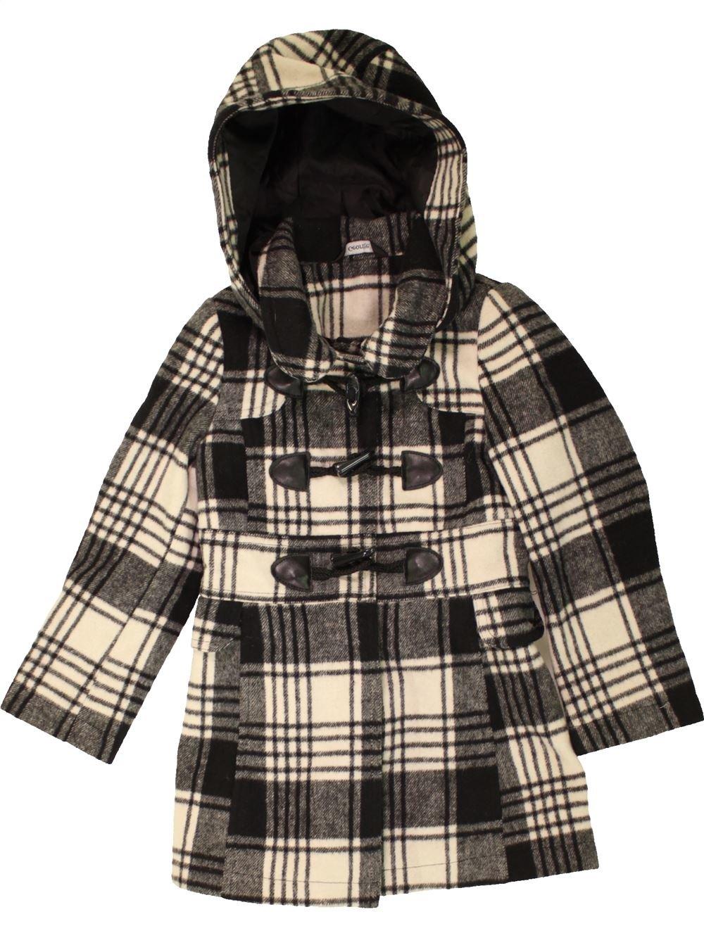 Manteau fille 5 ans gris