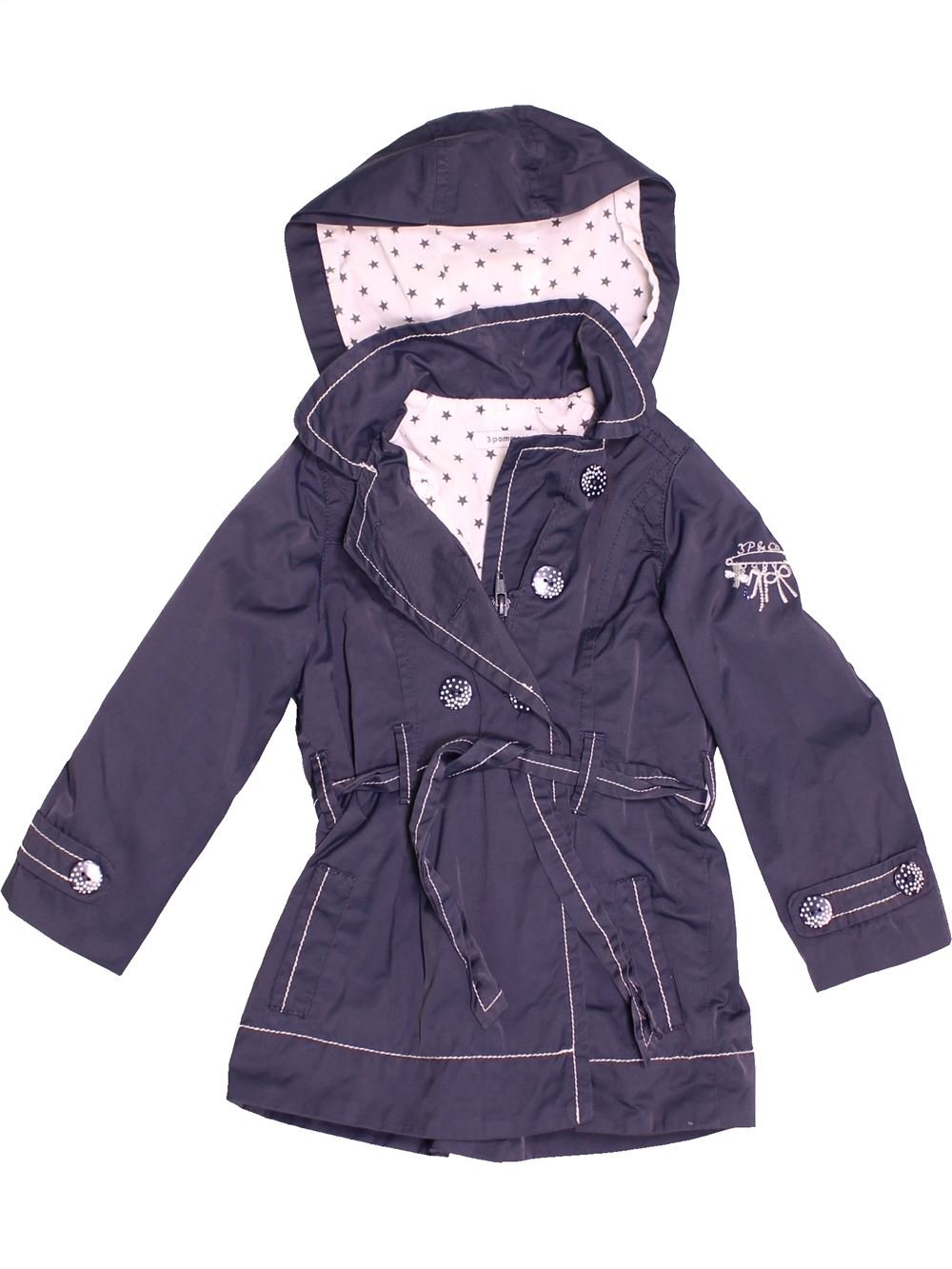 the cheapest great deals lowest discount Parka - Trench Fille 3 POMMES 3 ans pas cher, 4.80 € - #1516903