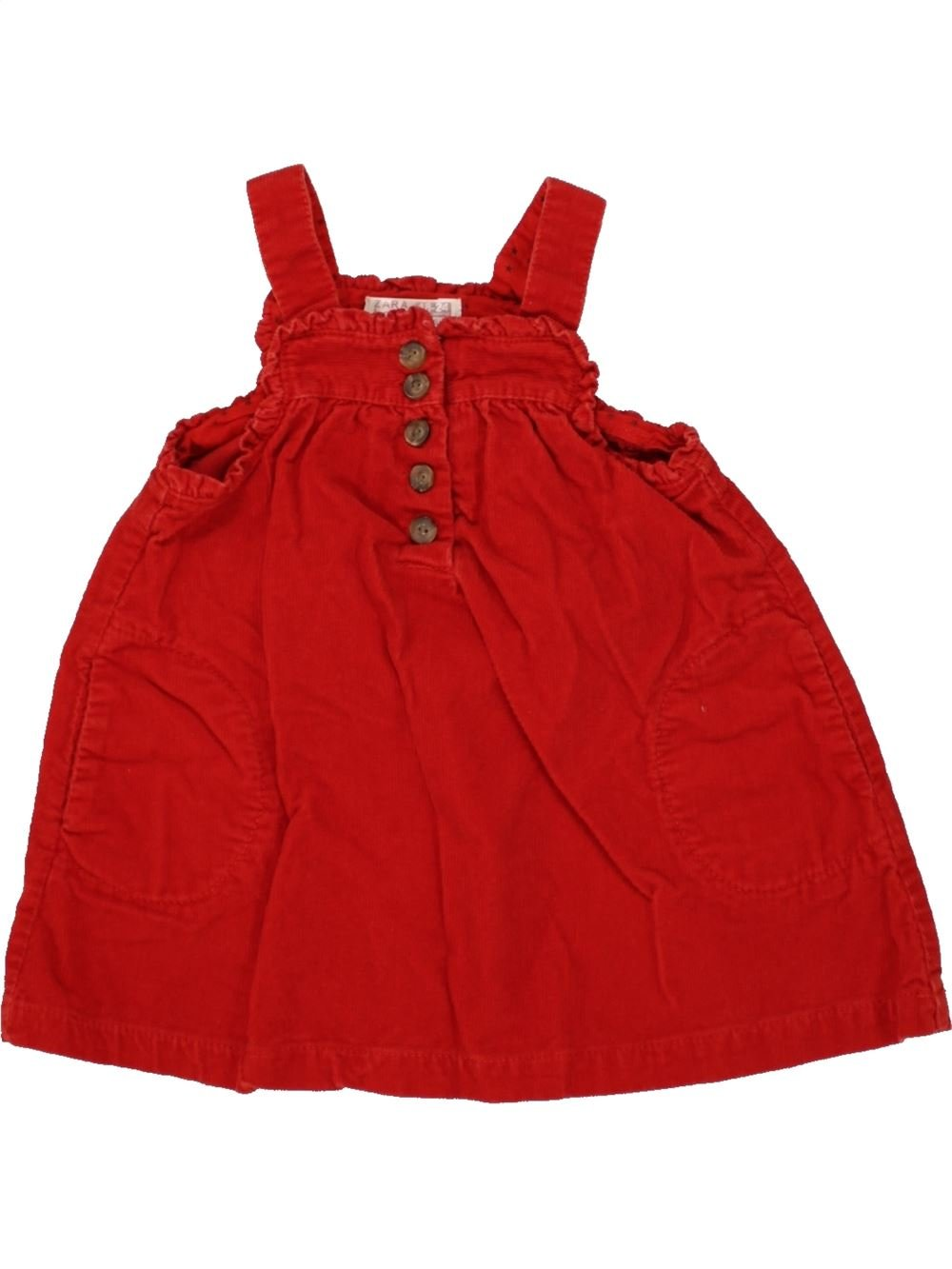 Robe fille rouge zara