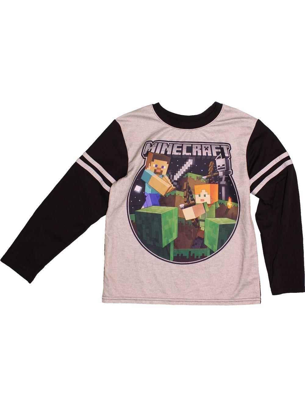 99 Minecraft Cher2 12 Manches Ans Pas Shirt Longues Garçon T rdshQt