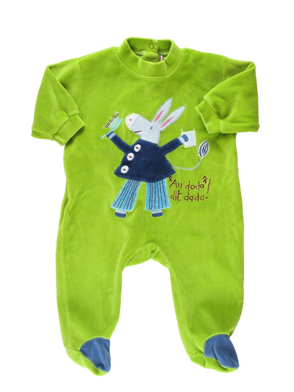 52e35ded72c9d Pyjama 1 piece vert DPAM du 1 mois pour Garcon - 367290