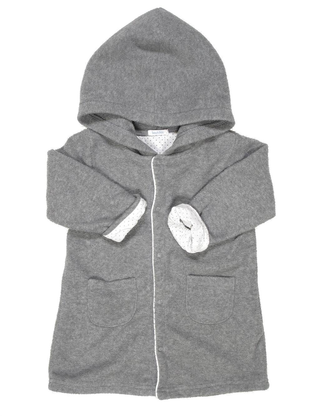 a71e160d6817f Robe de chambre gris BOUT'CHOU du 18 mois pour Fille ou Garcon - 493892