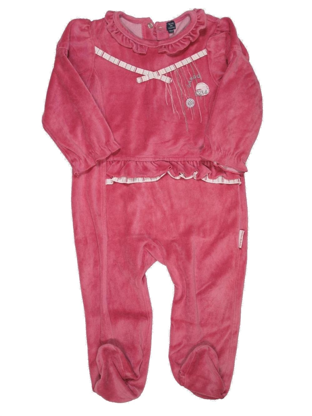 pyjama 1 pi ce fille terre de marins 18 mois pas cher. Black Bedroom Furniture Sets. Home Design Ideas