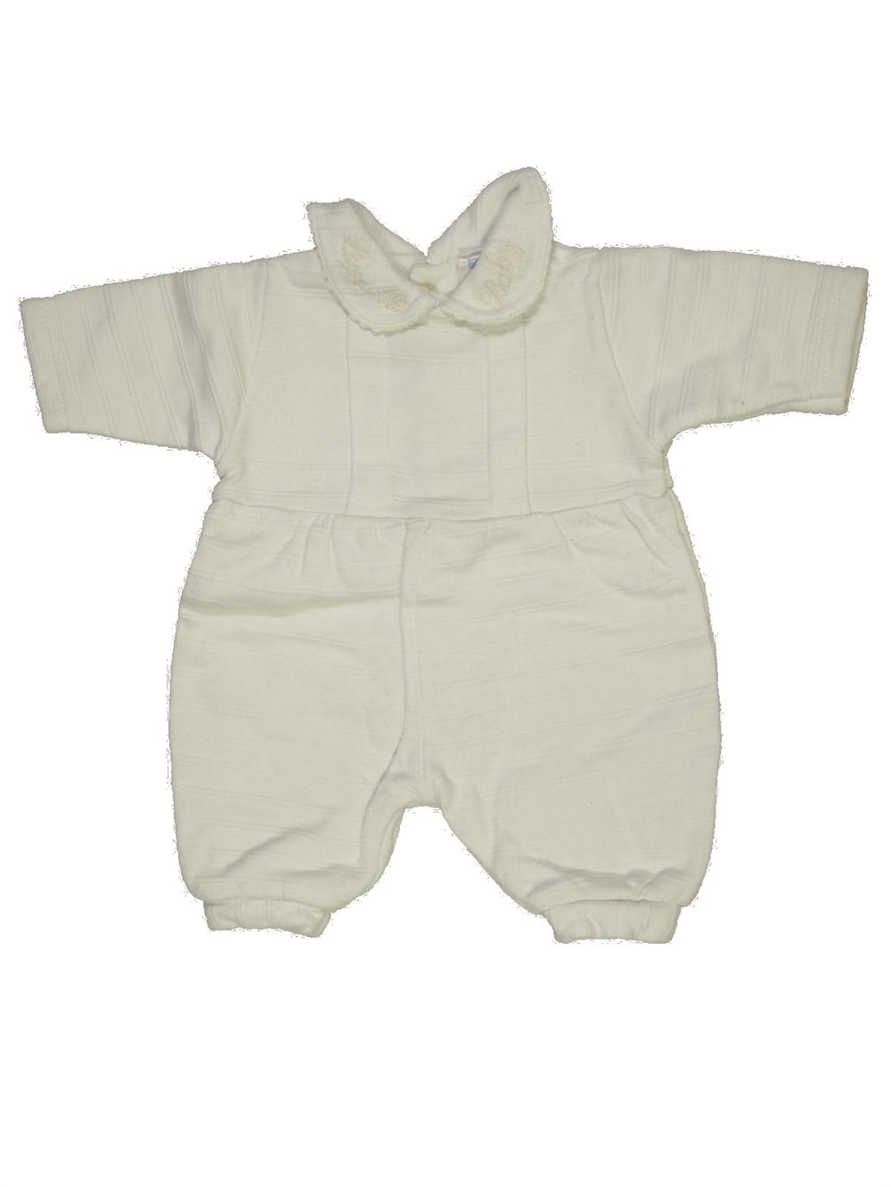 Pyjama 1 piece blanc TARTINE ET CHOCOLAT du naissance pour Fille ou Garcon  - 584828 b22804ff7dc