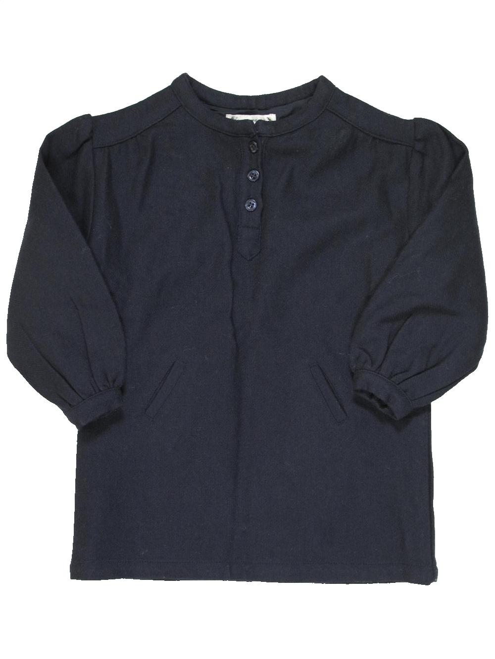 c79ad27934fdb Robe noir BLEU COMME GRIS du 2 ans pour Fille - 865076